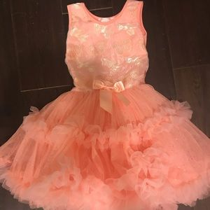 Girls Butterfly Popatu Tutu Dress